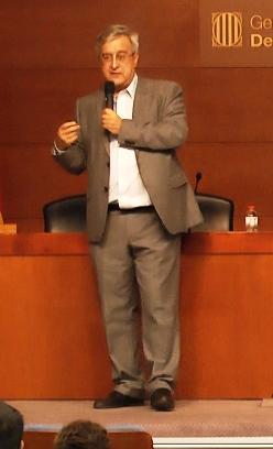 El ponente Fernando Royo