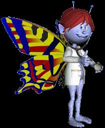 Mascota de ACNefi vestida de médico