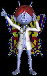 Mascota de ACNefi vestida de médico, tiene una idea.